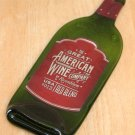Great American Wine bottle Flattened (slumped) Liqueur/wine bottle