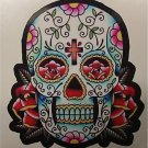 Day of the Dead Decal Rockabilly Rock Vintage Skull #46