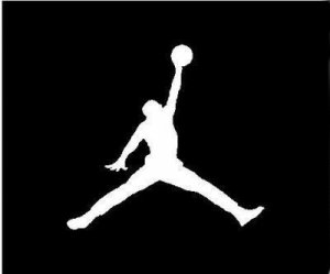 Michael Jordan Nike Vinyl Sticker Decal Basketball #16