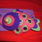 koi-san purple brooch/ japanesse colection
