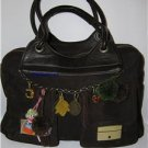 "380Euro,handbag,""JANET&JANET"" made in Italy,brown,Used"