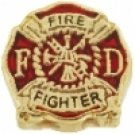 Firefighter Logo Charm
