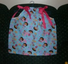 Dora PC Dress WIth Bow