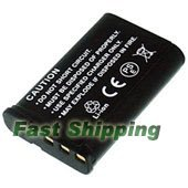 Casio Exilim EX-H10 EX-H15 EX-FH100 Rechargeable Digital Camera Battery