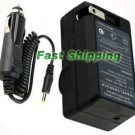 AC/DC Travel Charger for Fujifilm FinePix HS30EXR HS33EXR Camera Battery