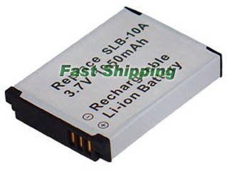 Samsung SLB-10A Li-ion Rechargeable Camera Battery