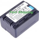 Panasonic VW-VBK180-K rechargeable camcorder battery, new battery 1-year warranty