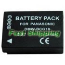 Panasonic Lumix DMC-TZ19 Camera Battery DMW-BCG10, new battery 1-year warranty