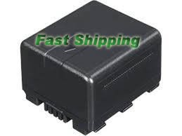Panasonic VW-VBN130 rechargeable camcorder battery, new battery 1-year warranty
