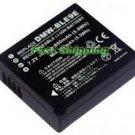 Panasonic DMW-BLE9 camera battery, new battery 1-year warranty