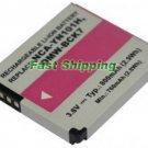 Panasonic SDBCK7, BCK7E camera battery, new battery 1-year warranty