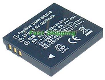 Panasonic VW-VBJ10, VWVBJ10 Lithium-ion Rechargeable Camcorder Battery