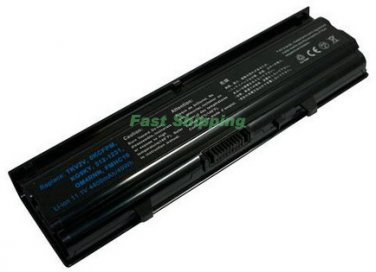 6 Cell Dell 0KCFPM, 0M4RNN, 312-1231, FMHC10, KG9KY, TKV2V, W4FYY, X3X3X laptop battery 4400mAh