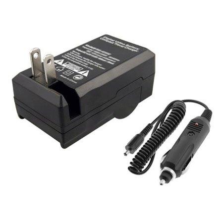 Canon LP-E6 LP-E6N LC-E6 LC-E6E Home Car Battery Charger AC/DC
