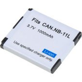 Canon PowerShot ELPH 170 IS Camera Battery NB-11L, NB-11LH 1050mAh