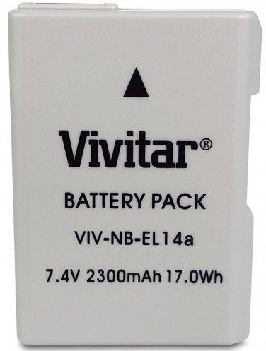 New Replacement EN-EL14a Full Decoded Battery for Nikon DF D5500 D5300 D5200 D5100 D3300 D3200 D3100
