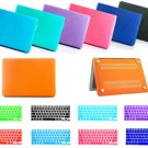 "New Hard Rubberized Case / Keyboard Cover Skin for MacBook Air 13"" MD761"
