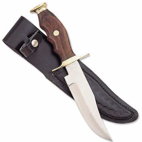 Mountain Man Bowie Knife with Sheath