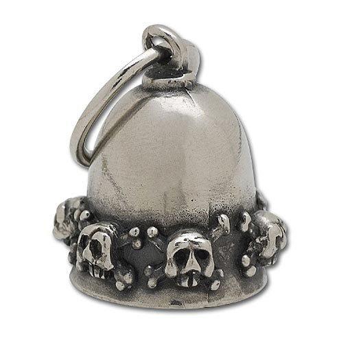 Biker Motorcycle Gremlin Bell - Skull