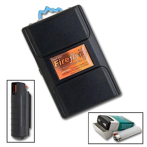 Firefly 950,000 Volt Stun Gun & Pepper Spray