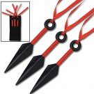 Naruto Kunai Warrior Set Throwing Spikes with Sheath