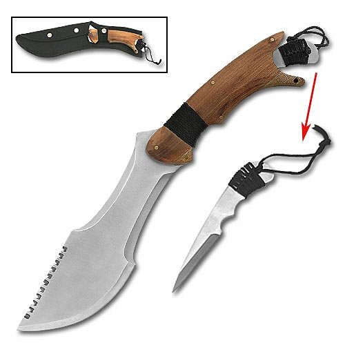 Paratrax Bowie Knife with Extra Removeable Blade