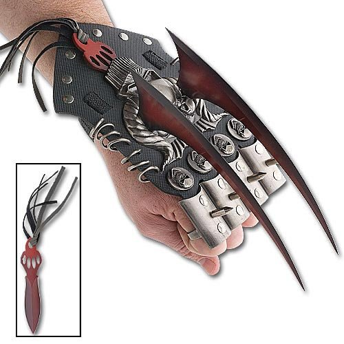 Stalker Hand Claw Daggers with Removeable Spike