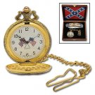 Confederate Treasure Folding Knife & Watch Set