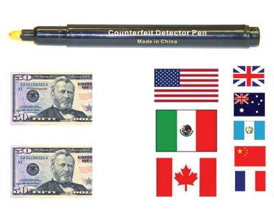Counterfeit Bill Detector Pen
