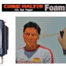 Crime Halter 15% Red Pepper Spray Foam - 1/2 oz. - Hardcase