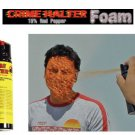 Crime Halter 15% Red Pepper Spray Foam - 4 oz.