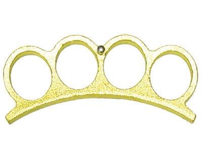 Brass Knuckles Paper Weight - Gold