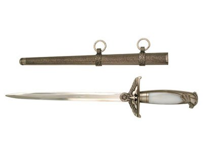German WWII Dagger with Scabbard