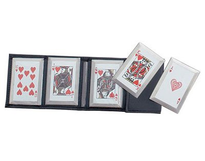 5 Piece Throwing Cards - Hearts Royal Flush