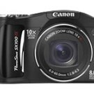 Canon PowerShot SX100 IS 8.0 MP Digital Camera - Black