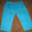 LANE BRYANT Venezia Blue Casual Pants Sweats Lounge PJ Plus 5X Retail $35 NEW WITH TAGS