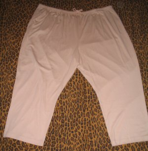 LANE BRYANT Woman LBW Beige Casual Pants Sweats Lounge PJ Plus 5X Retail $25 NEW WITH TAGS
