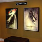 Movie Poster Lightbox Frame Game Room Bar Advertising