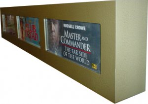 Movie Mylar Marquee 5X13 Triple Lightbox