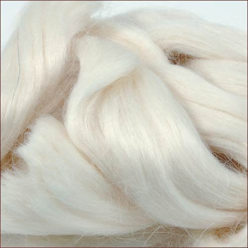 Mohair Basic: White