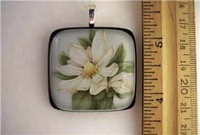 Fused Glass Pendant: Design #61