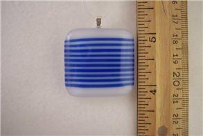 Fused Glass Pendant: Design #78