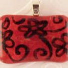 Fused Glass Pendant #202