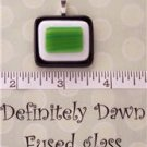 Fused Glass Pendant #293
