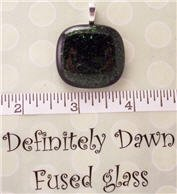 Fused Glass Pendant #231