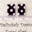 Fused Glass Earrings: Design #7