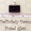 Fused Glass Pendant #395