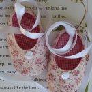 Sweet Little Ballet Baby Shoes PDF Pattern