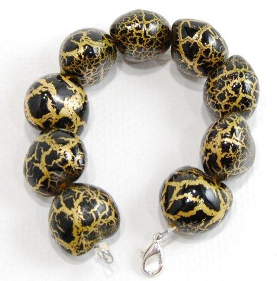 Paper Mache Bracelet