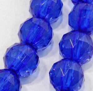 Blue Resin Lariat